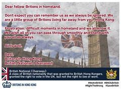 Letter to Britons in homeland