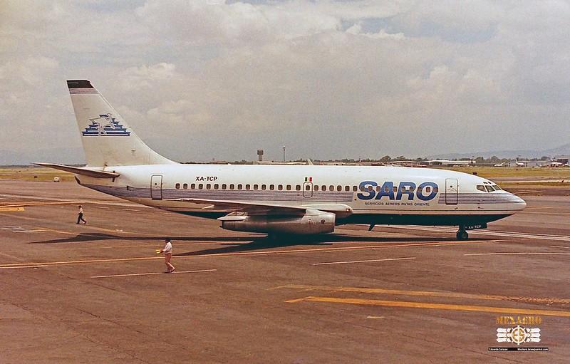 SARO / Boeing 737-2L9 (Adv) / XA-TCP