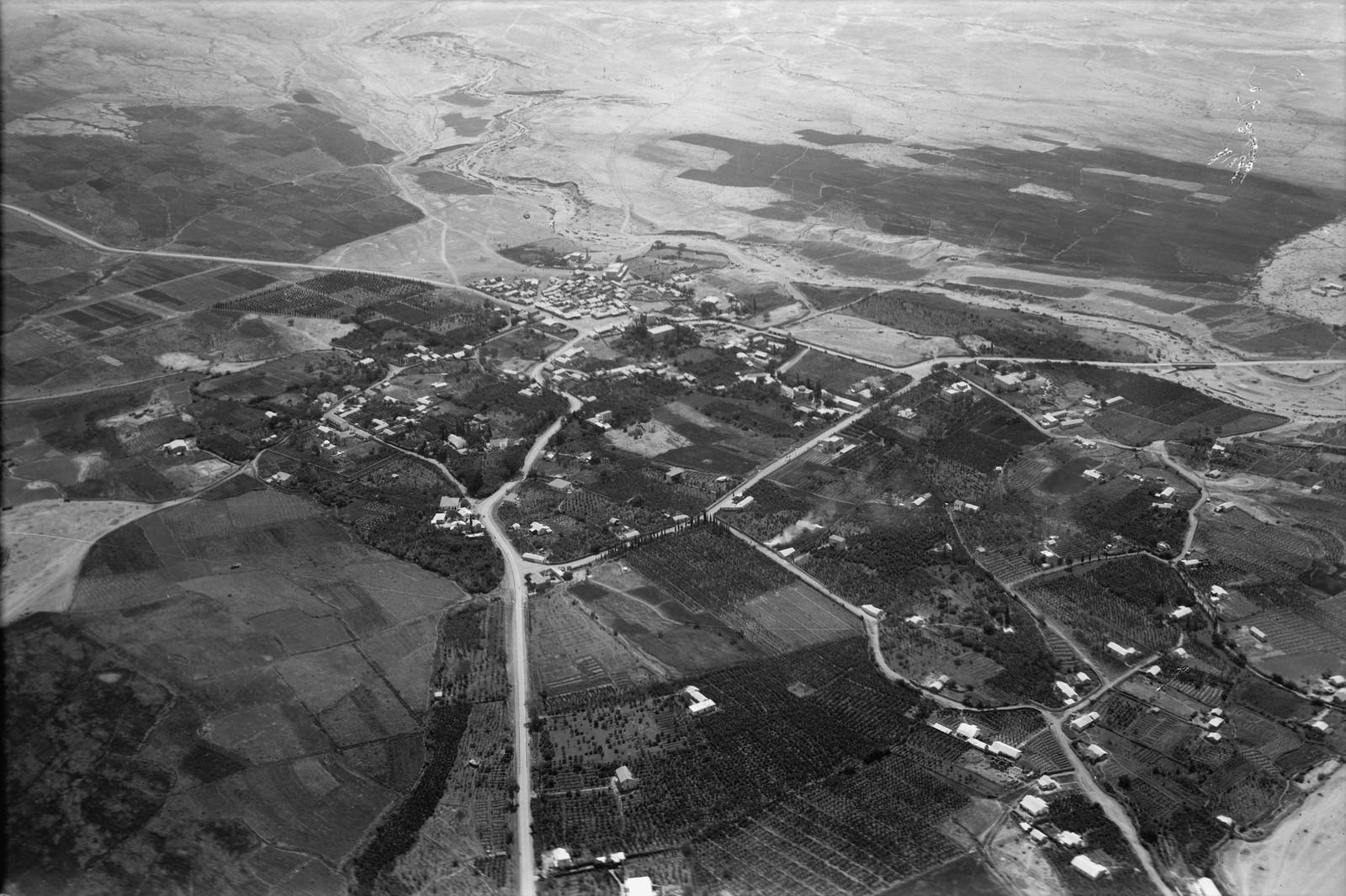 12. Воздушный маршрут по старой дороге Иерусалим-Иерихон. Современный Иерихон.