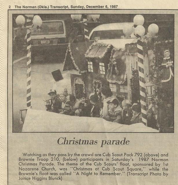 Norman, Oklahoma - 1987 Christmas Paradeparade