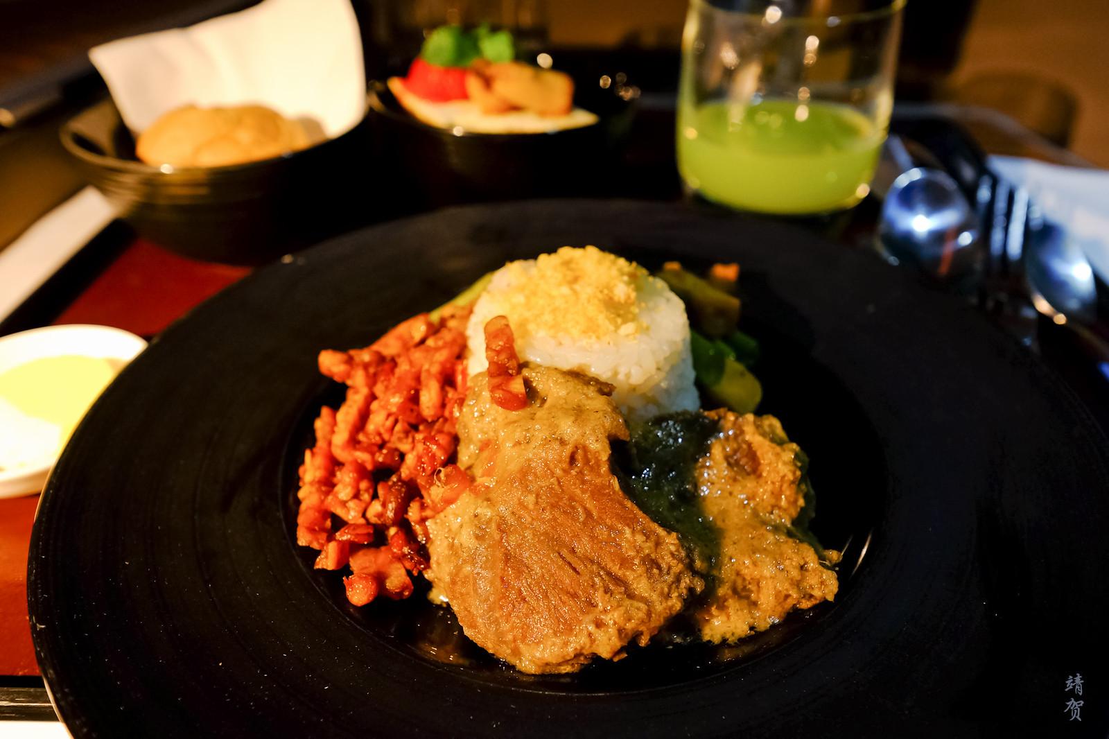 Nasi uduk inflight meal