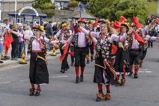 Swanage Folk Festival Parade 07-09-2019 059