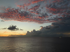 Barbados - Clouds at Sunset