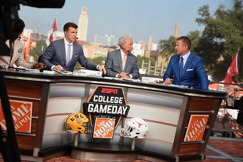 Texas v LSU College Football Gameday