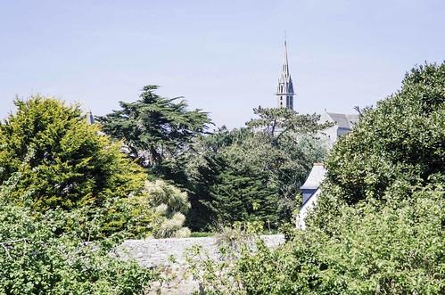 Une journée sur l'île de Batz - L'église et les jardins