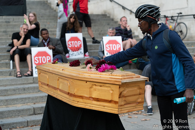 National Funeral for the Unknown Cyclist - London, 7 Sep 2019