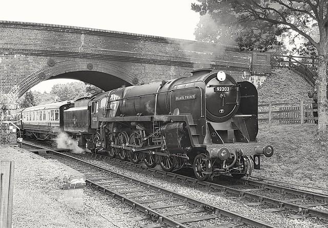 92203 Black Prince at Weybourne NNR 7th September 19