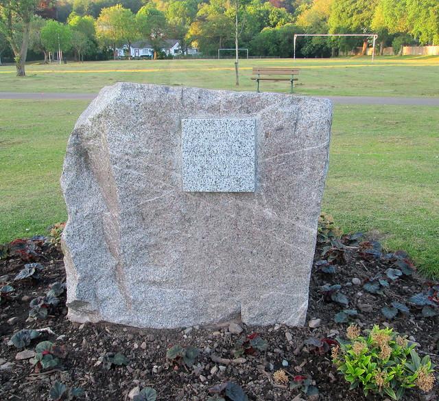Munitions Factory Memorial, Colliston Park, Dalbeattie