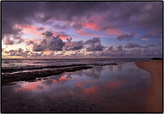Sunrise: Kapa'a, Kauai.