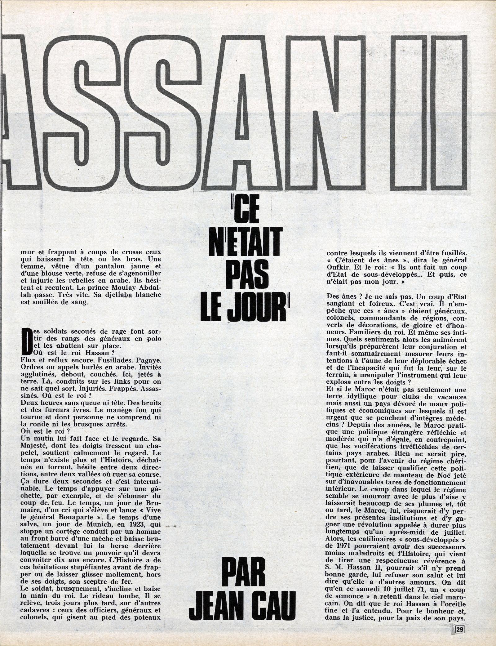 Tentative de coup d'État à Rabat et Skhirate le 10 juillet 1971  48695305263_02fdff94ba_o