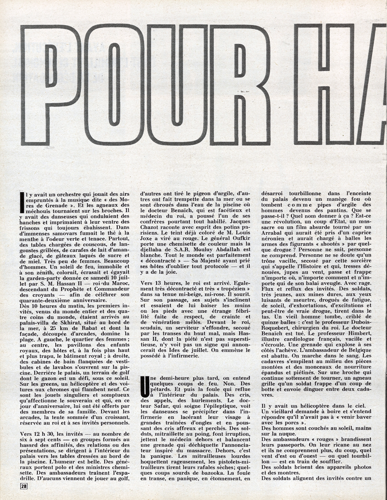 Tentative de coup d'État à Rabat et Skhirate le 10 juillet 1971  48695305503_728a495cef_o