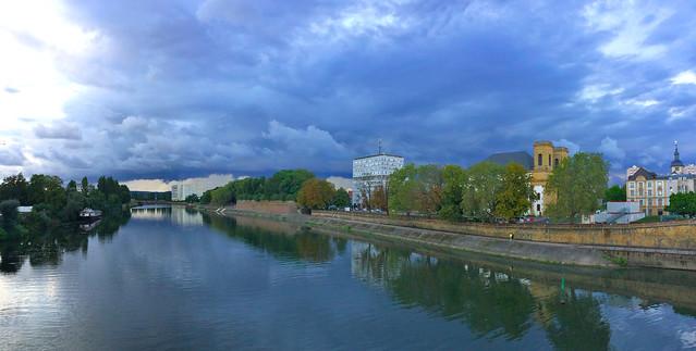 Sur le pont de Thionville