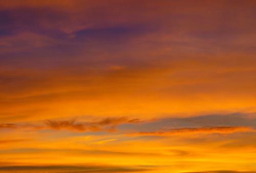 dusk sunset montrosecolorado colorado