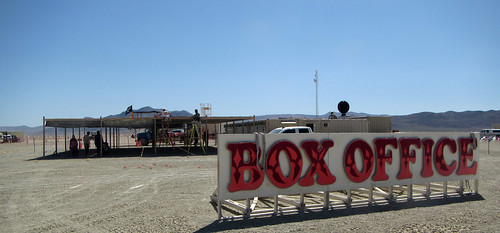 Box Office Sign (0385)