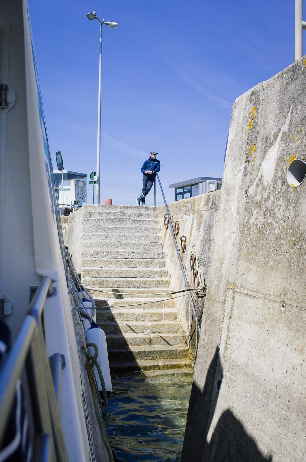 Une journée sur l'île de Batz - L'embarcadère de Roscoff