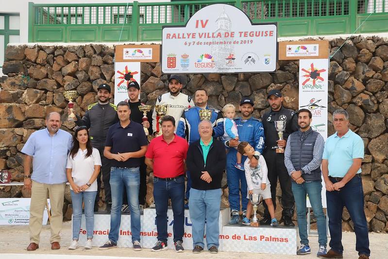 IV Rallye Villa de Teguise - Trofeos