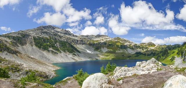 Cirque Lake, near Whistler, BC, Canada