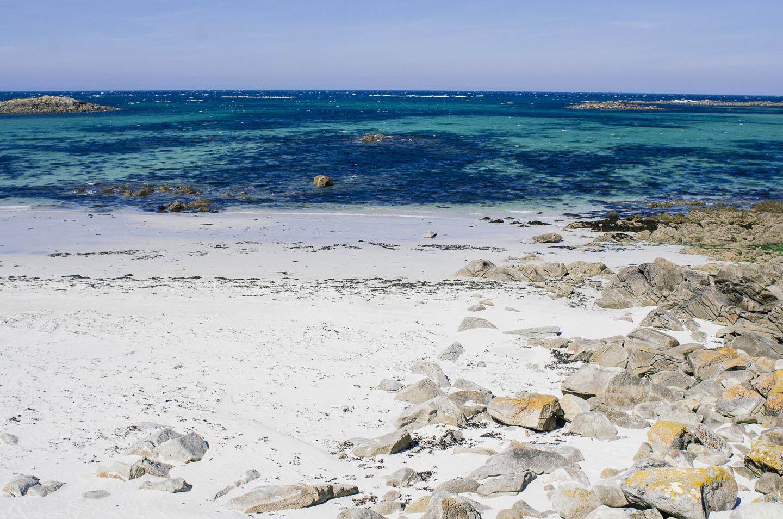 Une journée sur l'île de Batz - Les plages de sable blanc