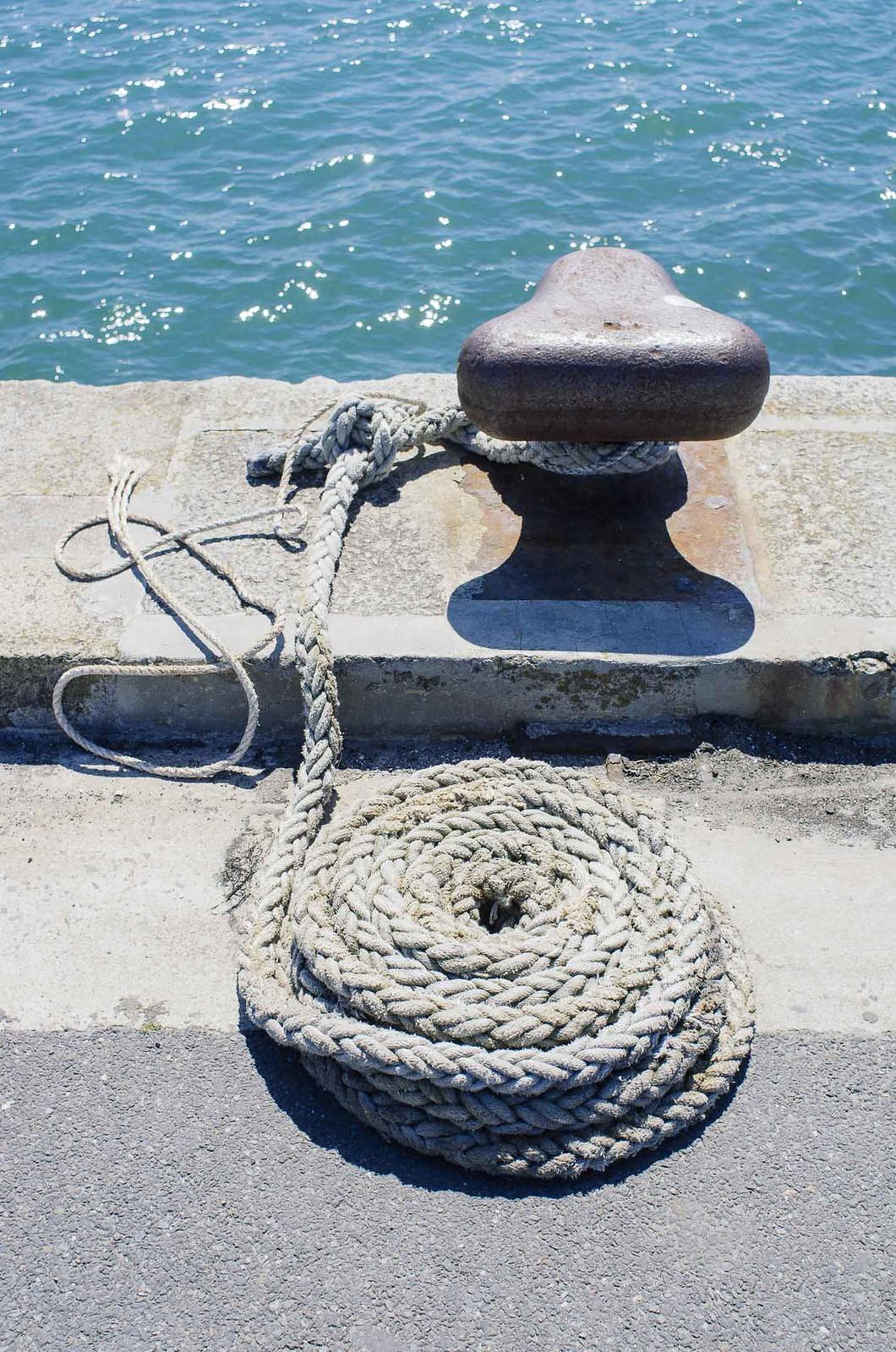 Une journée sur l'île de Batz - Sur le vieux port