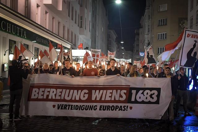 2019-09-07 iB-Aufmarsch in Wien statt am Kahlenberg