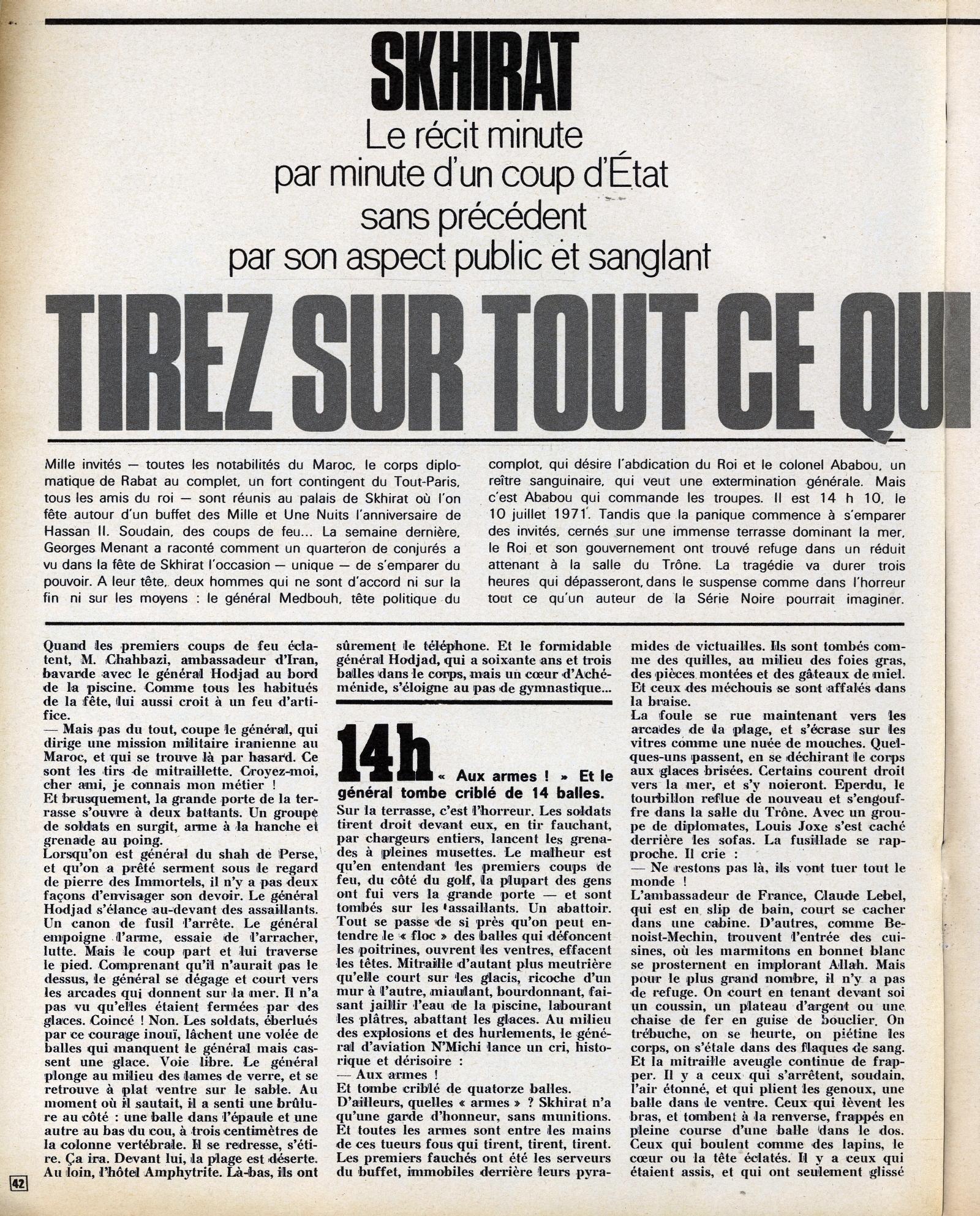 Tentative de coup d'État à Rabat et Skhirate le 10 juillet 1971  48695668616_015c8caf47_o
