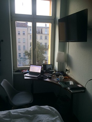 Writing while in Berlin