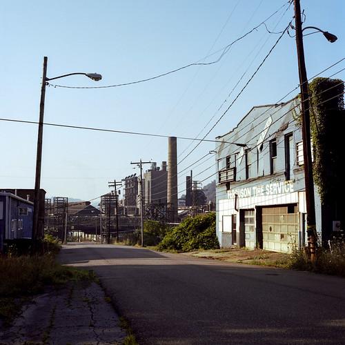 weirton westvirginia unitedstatesofamerica steelmill rustbelt hasselblad industrial