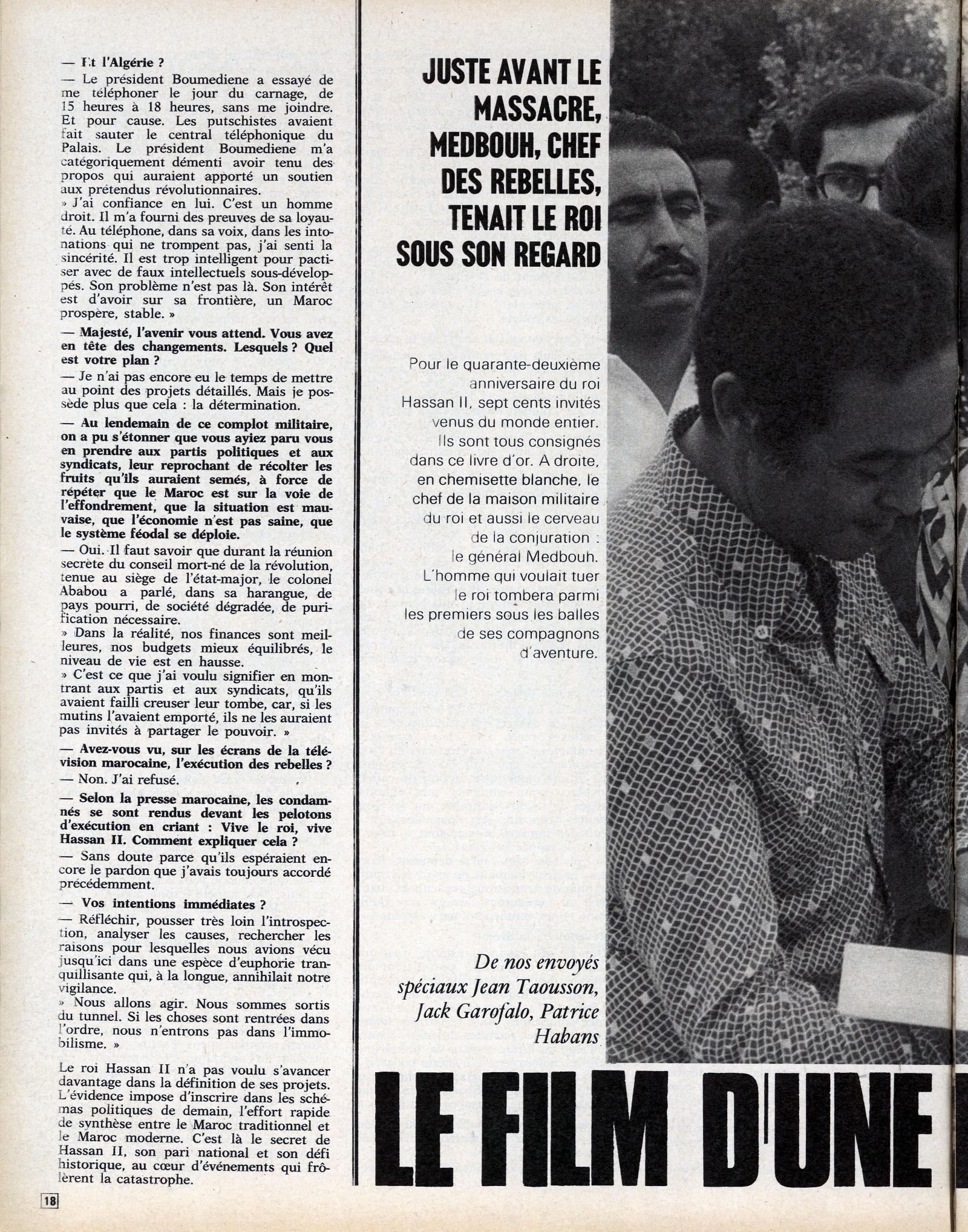 Tentative de coup d'État à Rabat et Skhirate le 10 juillet 1971  48695821347_f42533cf2e_o