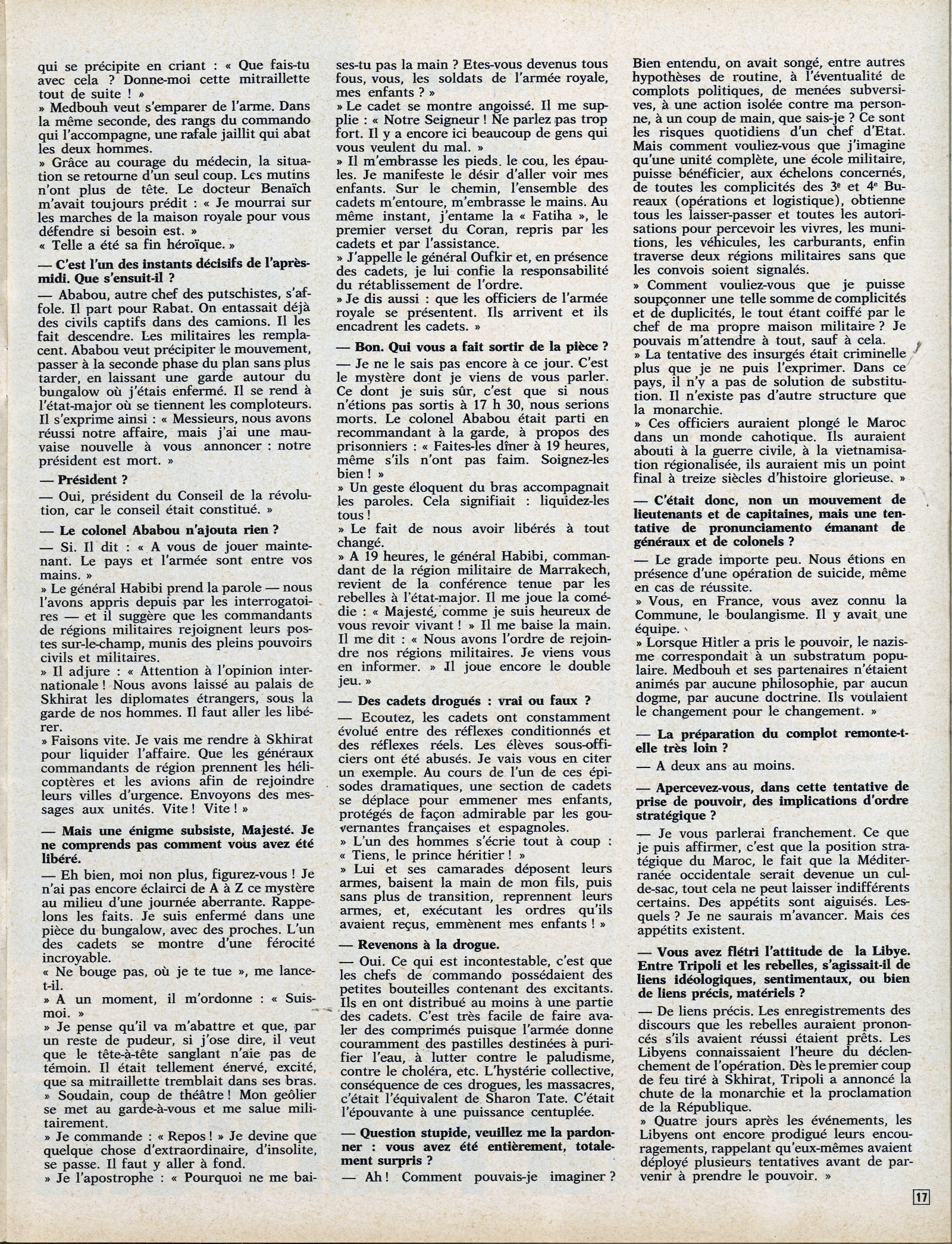 Tentative de coup d'État à Rabat et Skhirate le 10 juillet 1971  48695821467_0eeb611996_o
