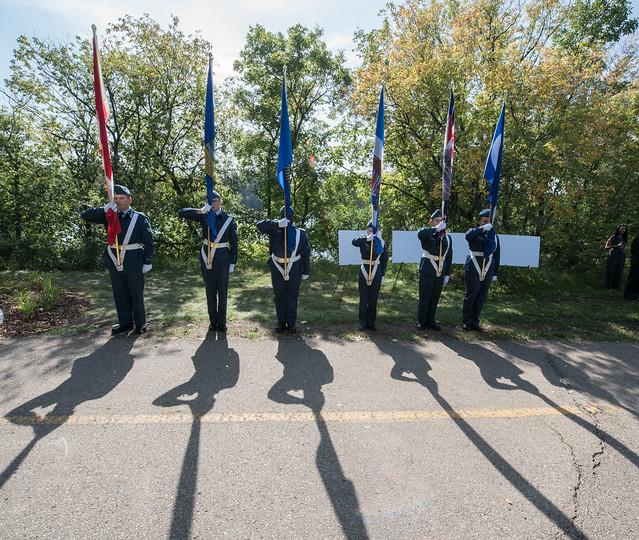Edmonton Commonwealth Walkway Opening