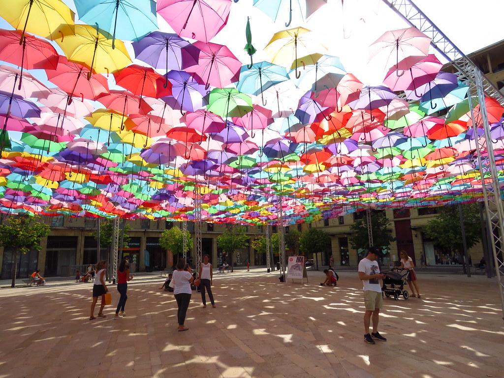 Parapluies d'AIX EN PROVENCE Eté 2019