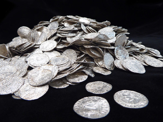 Chew Valley hoard silver pennies