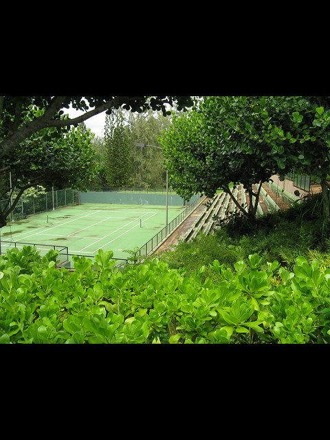 Tennis in Kauai