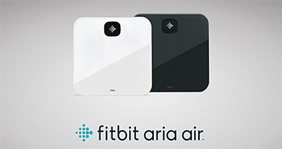 Fitbit Aria Air smart Bluetooth scale.