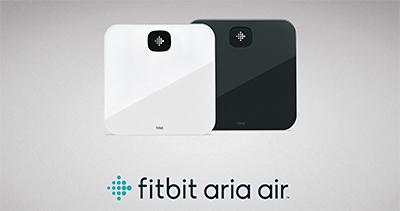 Fitbit Aria Air smart Bluetooth scale.