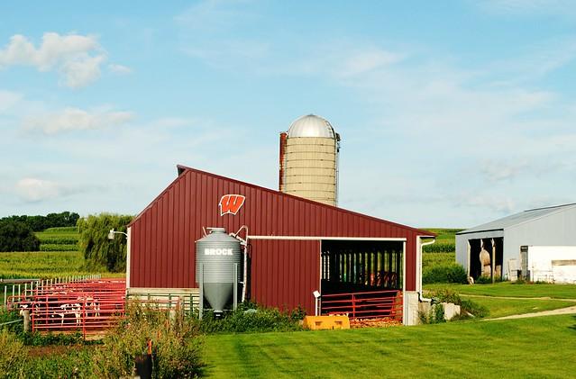 Wisconsin Dairy Farm near Fayette