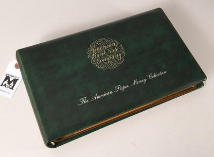 ABNCO American Bank Note Collection binder