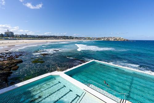 design water beach color sony blue pool icebergs swimming australia sun light fun bondi sydney travel surf bondibeach
