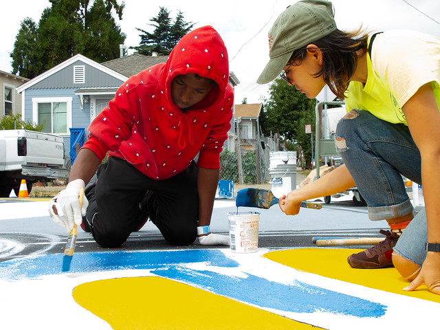 Paint the Town, Scraper Bikeway