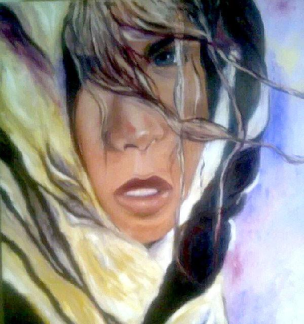 ציירת מודרנית אומנות ציורי תמונה  לסלון ציור יפה דיוקנאות אמנית אספנים אקספרסיבי אספן אספנים האוסף אקריליק פיגורטיבי דקורטיבי תמר גרגיר  tamar gargir