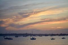 Sunset over Manhasset Bay
