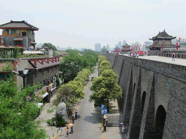 Hiking the City Wall