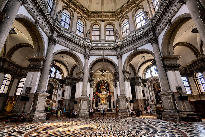 The Basilica of Santa Maria della Salute