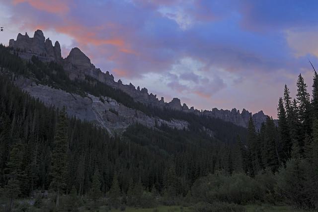 Soft light over sharp pinnacles