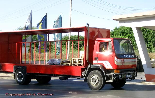 Good looking Leyland truck CAE632 still at work in Malta on 27.6.2011