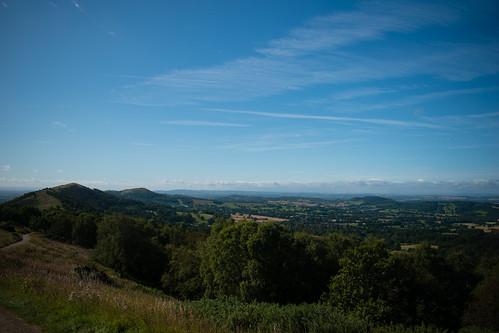 Along the Malvern ridge