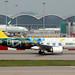 Royal Brunei Airlines  A320N V8-RBD departing HKG/VHHH