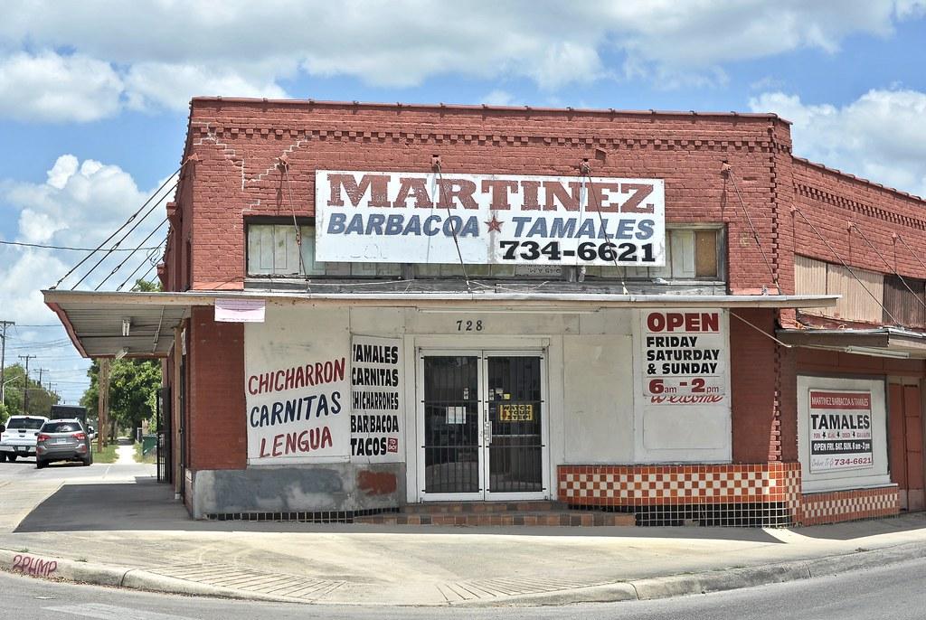Martinez Barbacoa * Tamales - San Antonio, Texas
