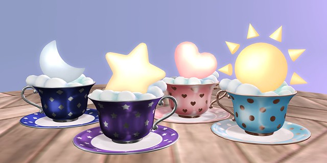 the heavens in a teacup
