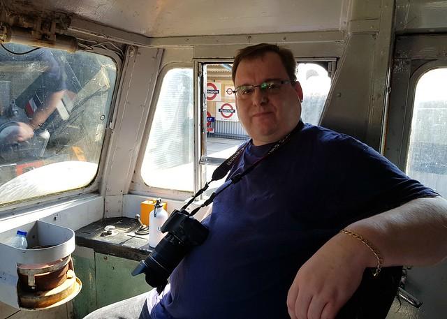 Class 47, 47579 'James Nightall G.C.' Inside the Cab
